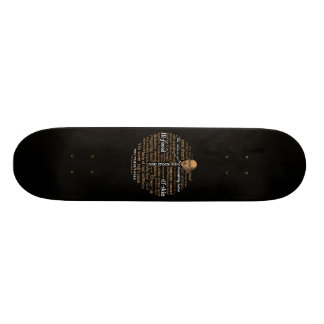 Shakespeare Insults Collection Skate Board Decks