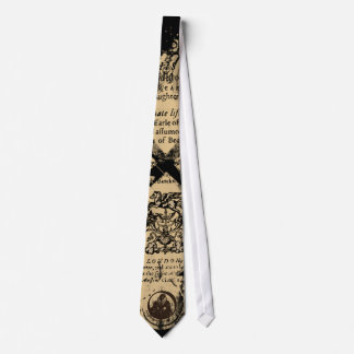 Shakespeare King Lear Quarto Front Piece Tie