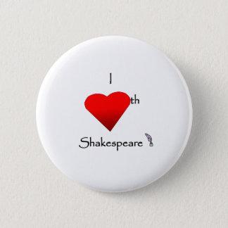 Shakespeare Love 2 Inch Round Button