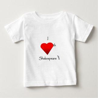 Shakespeare Love Baby T-Shirt