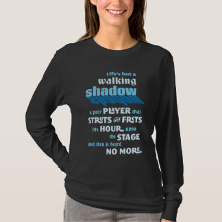 Shakespeare Macbeth Quotation T-Shirt
