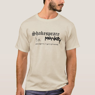 Shakespeare Monkey T-Shirt