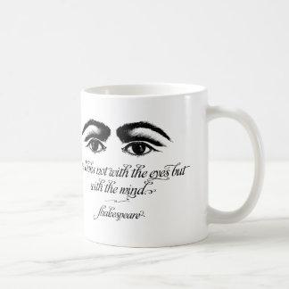 Shakespeare Mug, Love Looks not with Eyes Coffee Mug