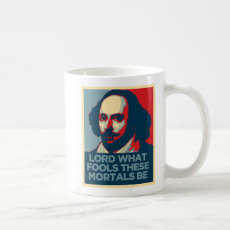 Shakespeare Mug - What Fools