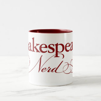 Shakespeare Nerd coffee mug