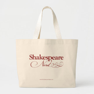 Shakespeare Nerd tote bag