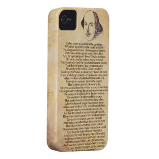 Shakespeare on your iPhone - Hamlet iPhone 4 Case