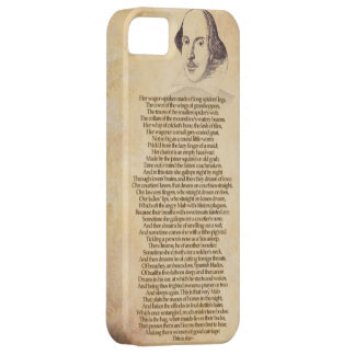 Shakespeare on your iPhone - Romeo & Juliet iPhone 5 Case