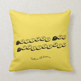 Shakespeare Pillow