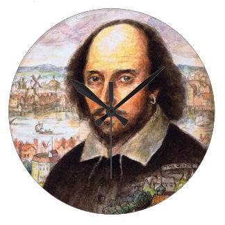 Shakespeare Portrait Clock