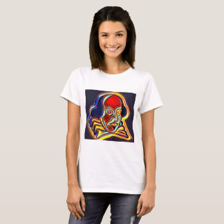 Shakespeare portrait - modern art T-Shirt