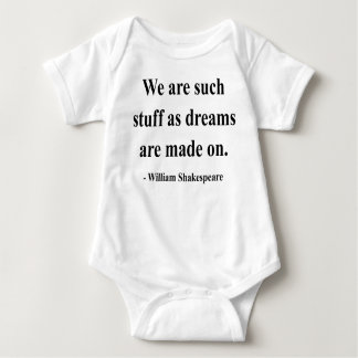 Shakespeare Quote 2a Baby Bodysuit