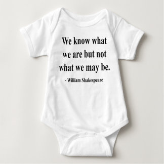 Shakespeare Quote 3a Baby Bodysuit