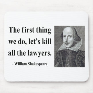 Shakespeare Quote 4b Mouse Pad