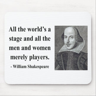 Shakespeare Quote 5b Mouse Pad