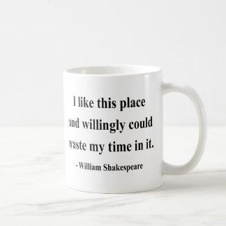 Shakespeare Quote 6a Classic White Coffee Mug