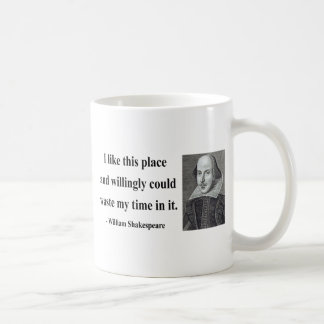 Shakespeare Quote 6b Classic White Coffee Mug