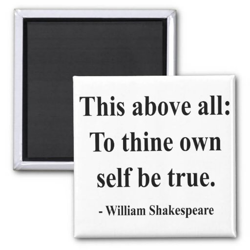 Shakespeare Quote 8a Fridge Magnets