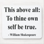 Shakespeare Quote 8a Mousepads