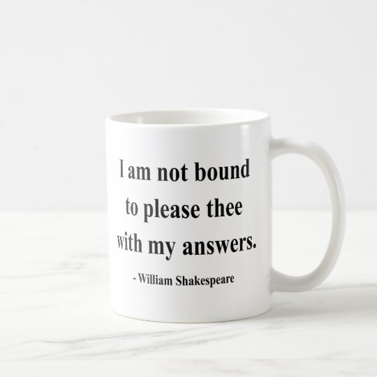 Shakespeare Quote 9a Coffee Mug
