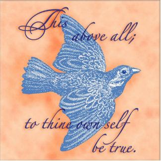 Shakespeare Quote Art Pin Photo Sculpture Button