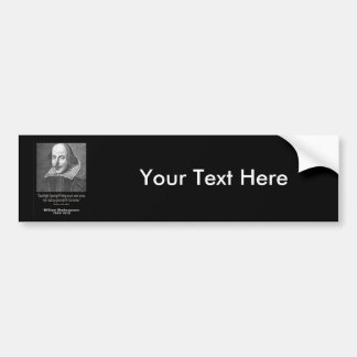 Shakespeare Quote ~ Good Night, Good night! Bumper Sticker