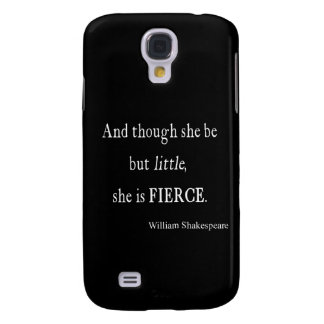 Shakespeare Quote She Be Little But Fierce Quotes
