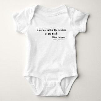 Shakespeare Quotes Baby Bodysuit