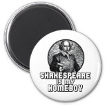 Shakespeare Refrigerator Magnets