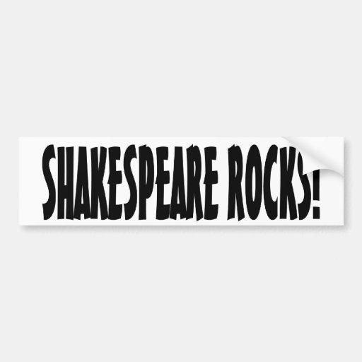 Shakespeare Rocks! Bumper Stickers