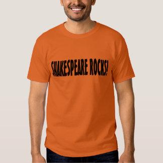 Shakespeare Rocks T-shirts