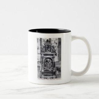 Shakespeare s Monument Stratford-on-Avon Church V Coffee Mug