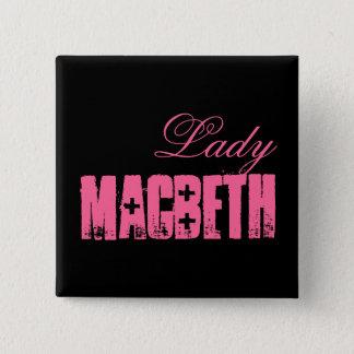 Shakespeare Series - MacBeth 2 Inch Square Button