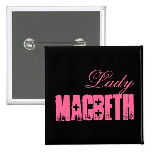 Shakespeare Series - MacBeth Pinback Buttons