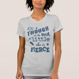 Shakespeare She is Fierce Quotation T-Shirt