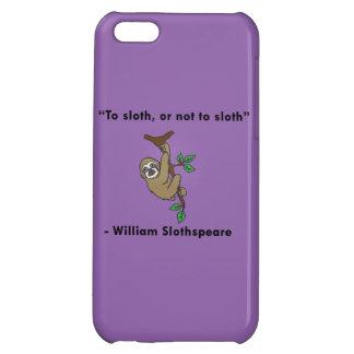Shakespeare Sloth Phone Case iPhone 5C Cases