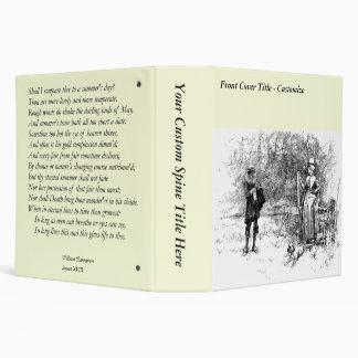 Shakespeare Sonnet # 18 3 Ring Binder