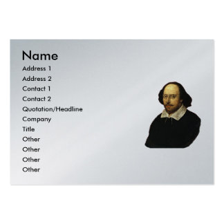 Shakespeare Sonnet # 18 Pack Of Chubby Business Cards