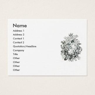 Shakespeare Sonnet # 18 Business Card