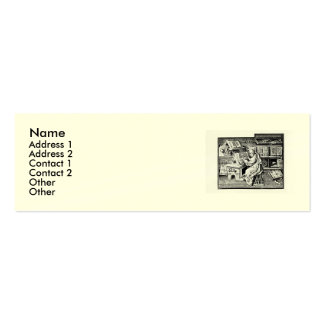 Shakespeare Sonnet # 18 Pack Of Skinny Business Cards
