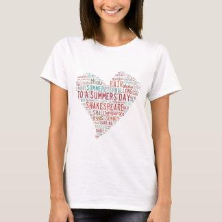 Shakespeare Sonnet 18 T-Shirt