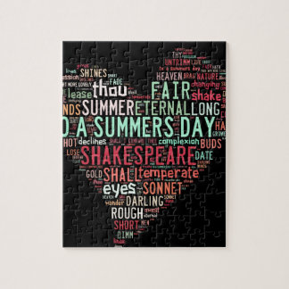 Shakespeare Sonnet Jigsaw Puzzle