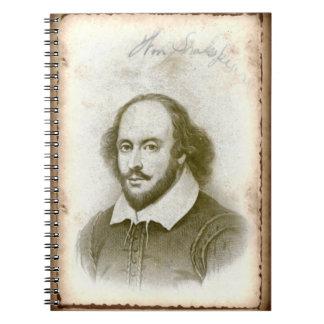 Shakespeare Spiral Notebook