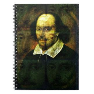 Shakespeare Spiral Notebooks