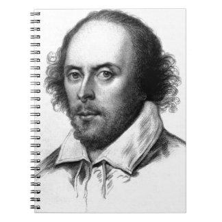Shakespeare Spiral Spiral Note Book