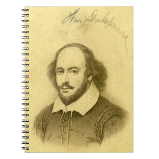 Shakespeare Spiral Spiral Note Books