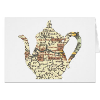 Shakespeare Teapot Card