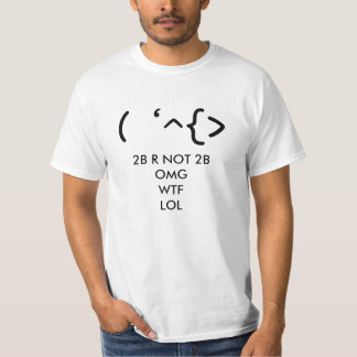 Shakespeare - the Emoticon T-Shirt