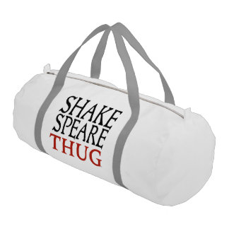 Shakespeare Thug Duffle Bag