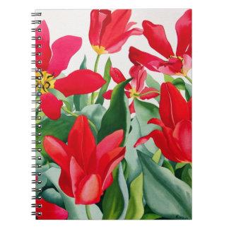 Shakespeare Tulips Note Book